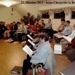 21.10.2013 -letzte Chorprobe in Bergen–Text