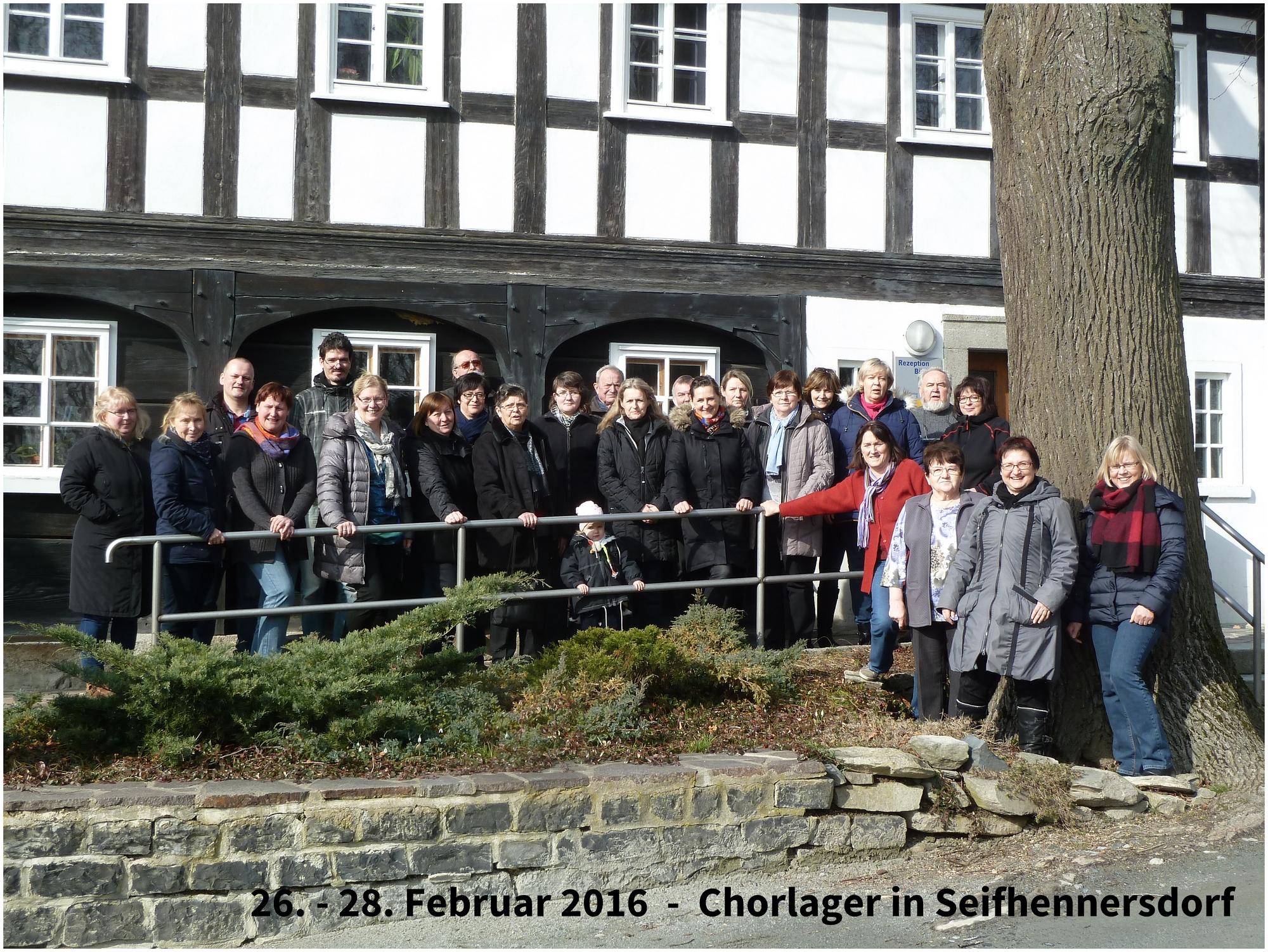 Chorlager in Seifhennersdorf